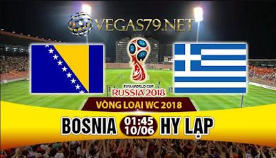 Nhận định, Soi kèo hôm nay Bosnia vs Hy Lạp