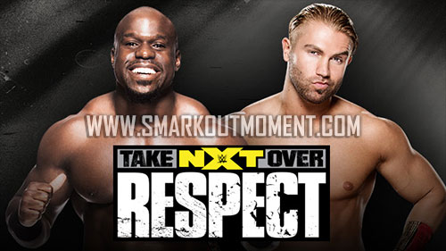 WWE NXT TakeOver Respect Crews vs Breeze match