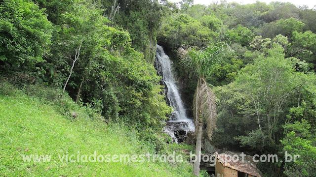 Cascata ao lado da Casa De Bona, Farroupilha, Serra Gaúcha