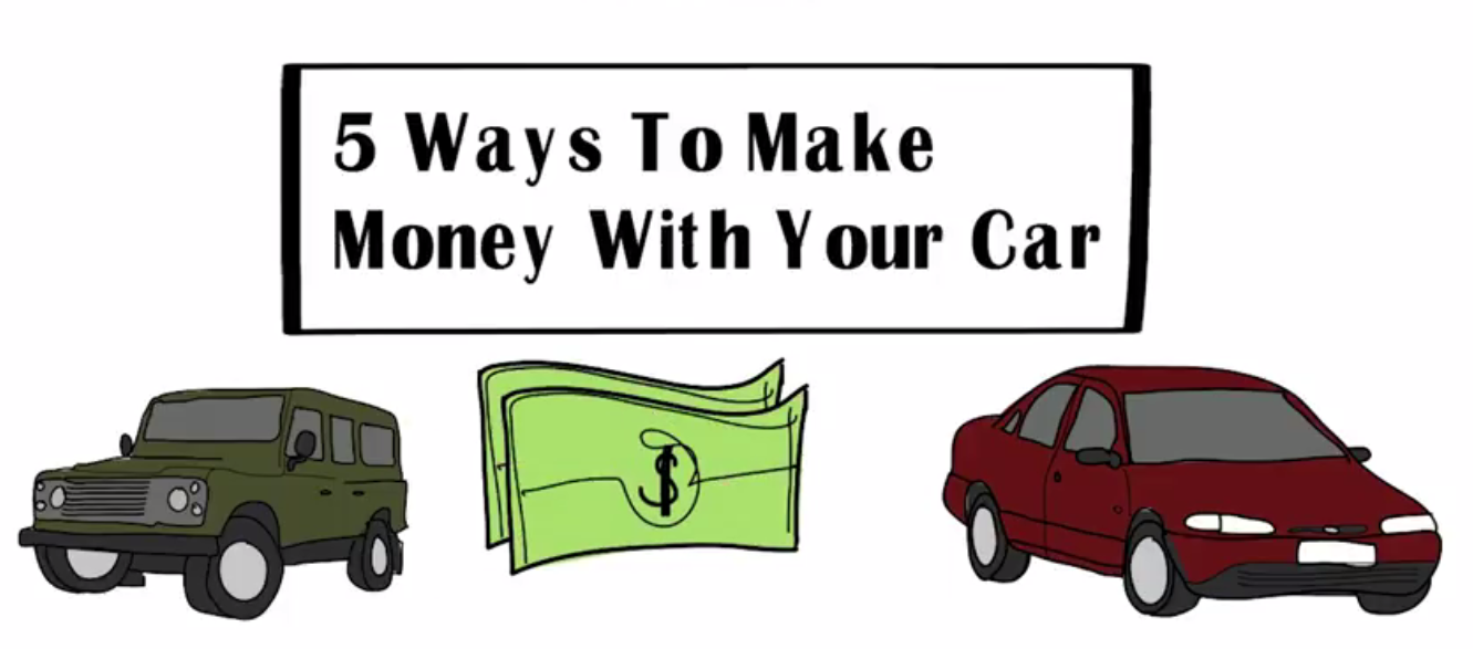 5 Ways To Make Money With Your CAR | Ways To Earn Money Online