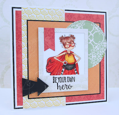 Heather's Hobbie Haven - Hayley the Hero Card Kit