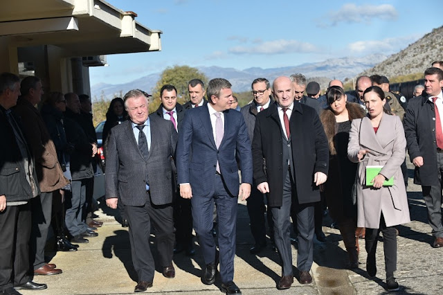 The Albania-Montenegro joint train station project inaugurated in Tuz