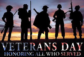 A minute of silence for all Veterans