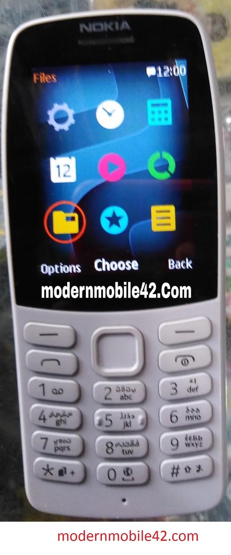 Nokia 210 TA-1139 MT6260 Firmware Flash File