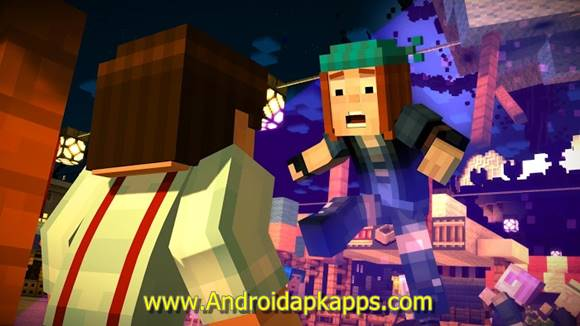 Free Download Minecraft Story Mode MOD Apk v1.14 Full OBB Data Terbaru Gratis