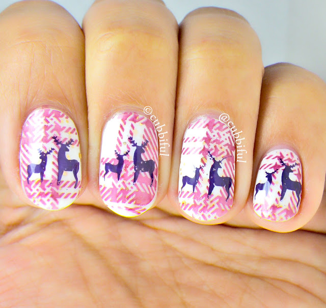 Double Stamping Nails