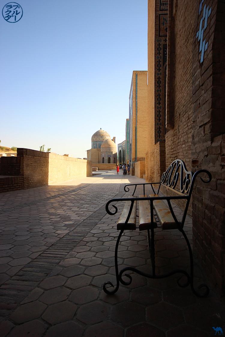 Le Chameau Bleu - Blog Voyage Ouzbékistan - Visite de la Nécropole Sha-i-Zinda à Samarcande