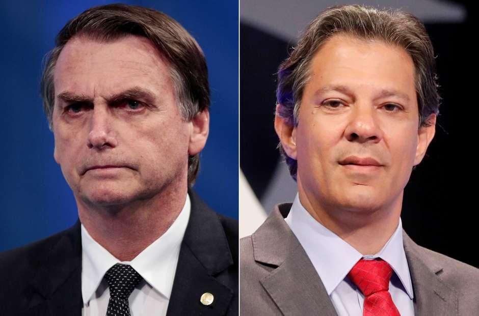 Bolsonaro e Haddad vão decidir Presidência no 2º turno