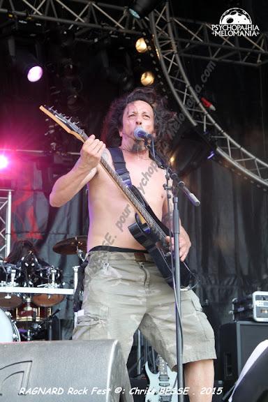 Agressor @Ragnard Rock Fest 2015, Simandre-sur-Suran 19/07/2015