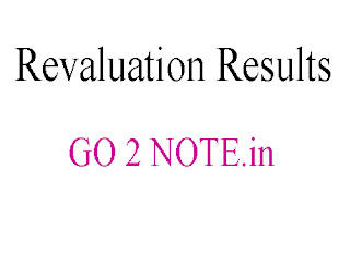 ANNA UNIVERSITY REVALUATION result 2018