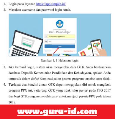gambar cara daftar ppg 2018
