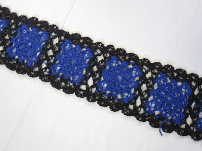 crochet, lace, love knot, join-as-you-go, granny square