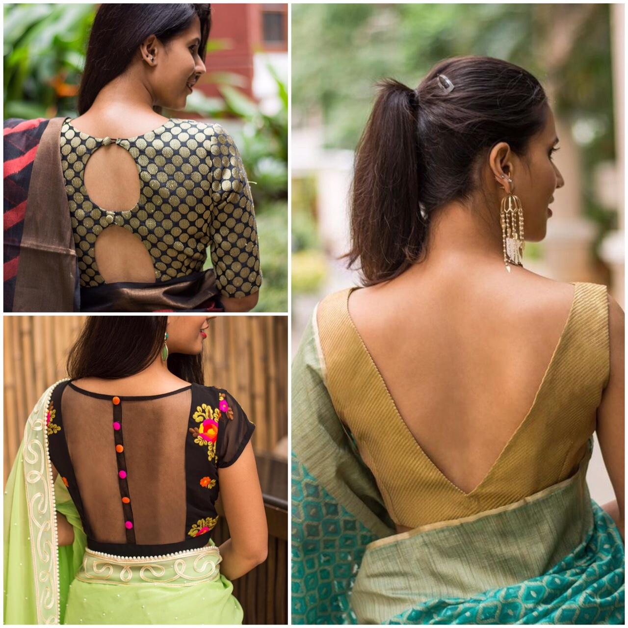 Wonderlijk How to Select Saree Blouse Design? - Candy Crow EU-09