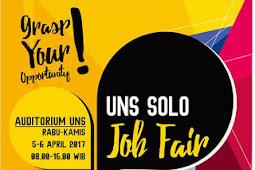 Jadwal Job Fair UNS Solo Bulan April 2017