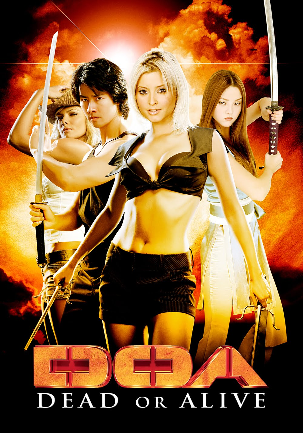 DOA Dead or Alive (2006) Dual Audio Hindi 300MB BluRay 480p ESubs