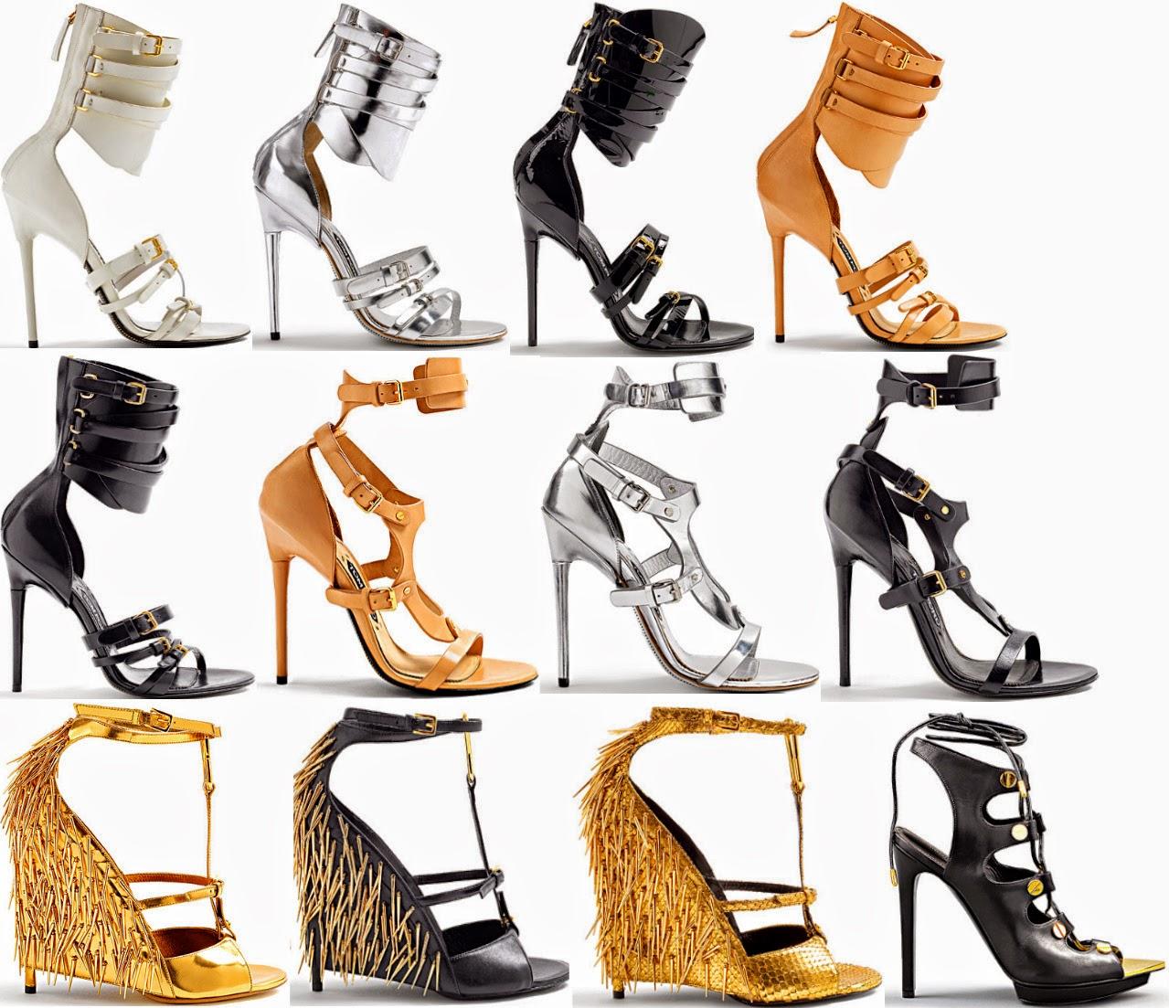 d2c7f68db68e7 كونى مميزة بأختيارك الحذاء الأفضل مع مجموعة أحذية ربيع وصيف 2014 من TOM FORD