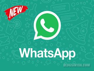 Aplikasi Whatsapp Terbaru | Blogsinyak
