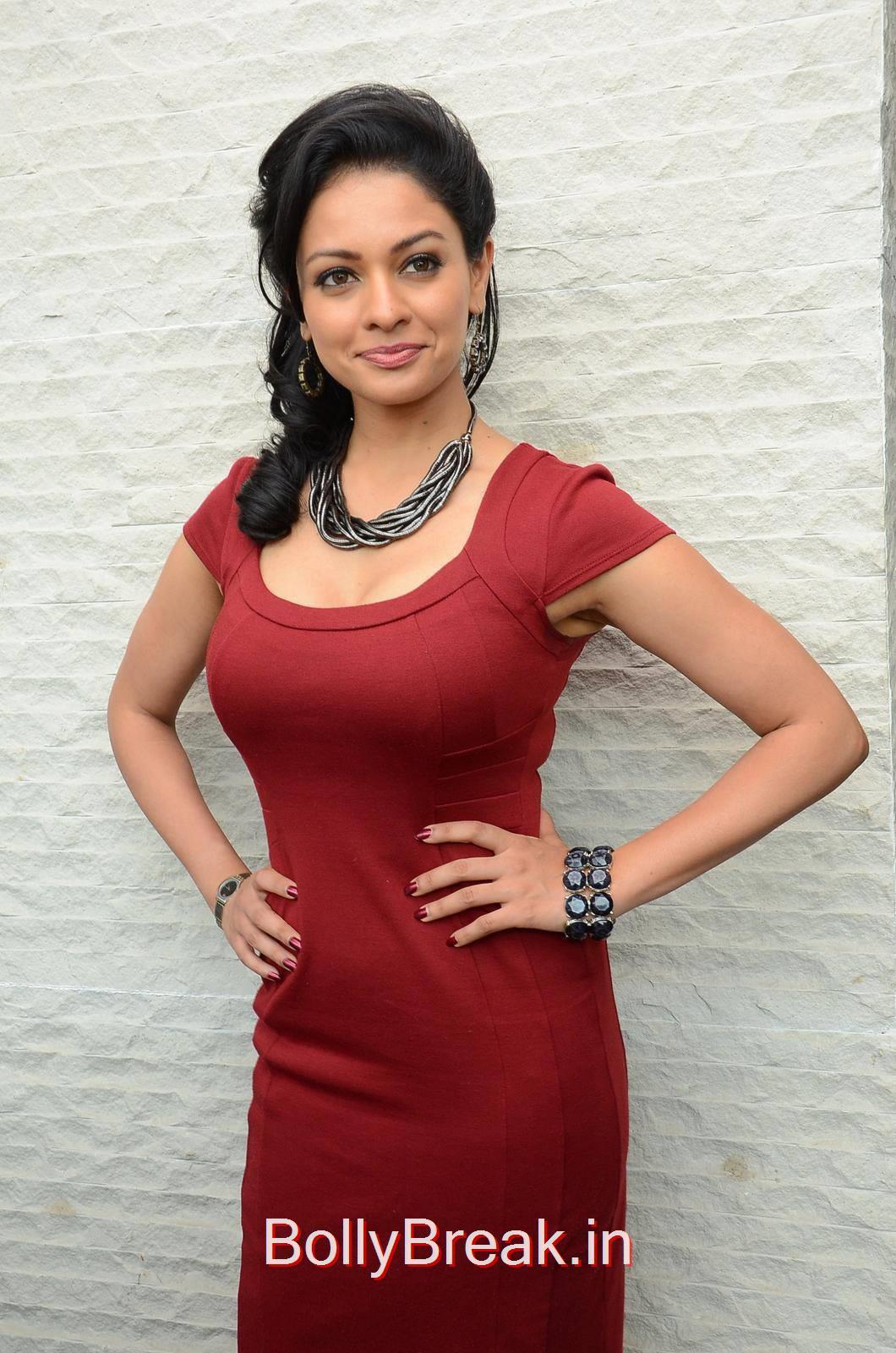 Pooja Kumar Photo Gallery with no Watermarks, Hot HD Images of Pooja Kumar from Uttama Villain Movie Release Date Press Meet