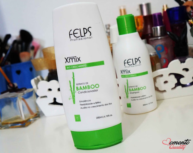 Kit Extrato de Bamboo Xmix Felps Profissional