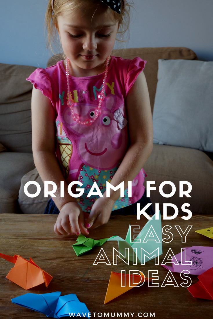 Easy origami for kids! How to make a paper zoo using easy origami ideas - 16 different easy origami animals to make with or for kids and links to comprehensive folding tutorials!