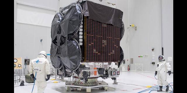 Al Yah 3 satellite. Credit: Arianespace