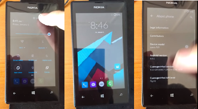 Developer Installs Android 6.0 Marshmallow on Lumia 525