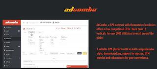AdCombo - monetización web en CPA