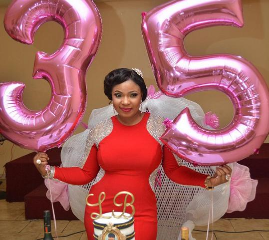 Official Photos From Laide Bakare's 35th Birthday Party