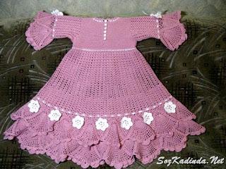yazlık bebek elbise modelleri