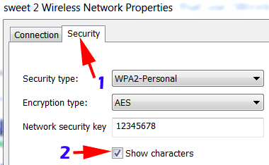 Find Saved WiFi Password on PC