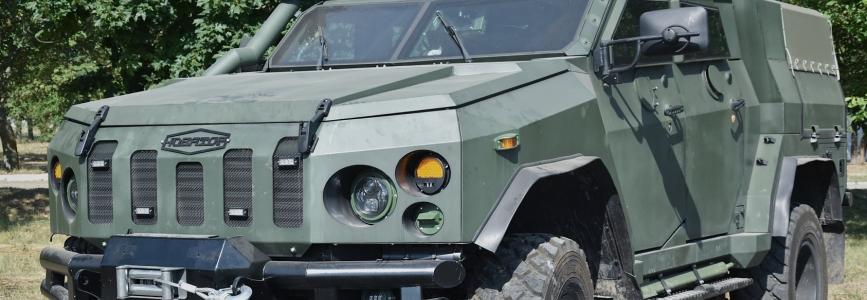 28 механізована бригада отримала бронемашини Новатор