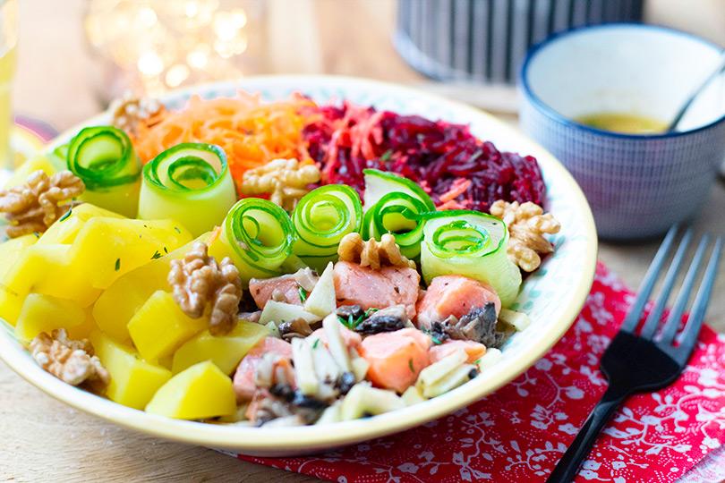 recette salade truite