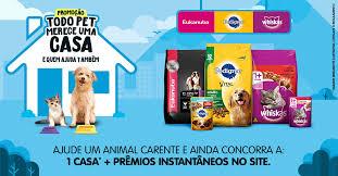 Promoção Todo Pet merece uma casa