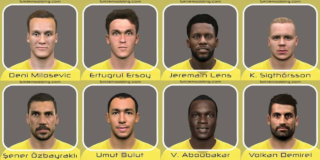 PES 2016 New Facepack V.5
