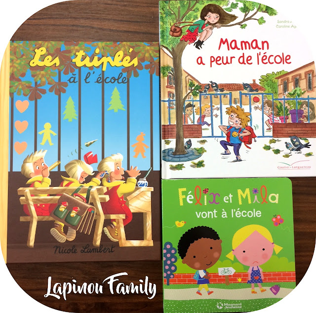selection livres theme ecole