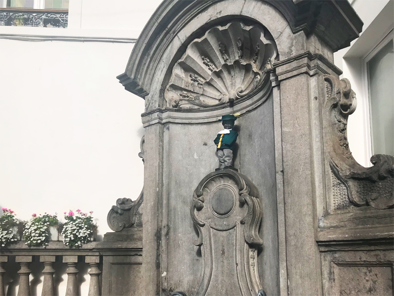 Mannekin Pis, The reality