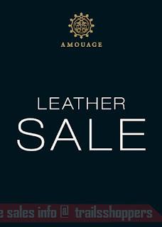 Amouage Boutique Malaysia 1st Ever Leather Sale