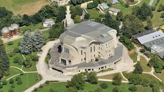 A Goetheanum épülete felülről