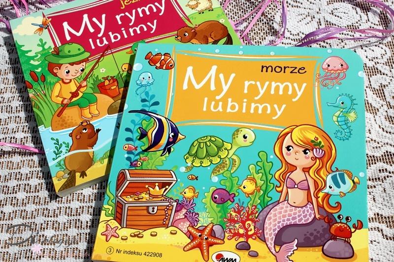 Jezioro i Morze, czyli książeczki dla dzieci z serii My rymy lubimy - recenzja