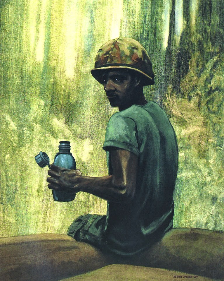 The Pause That Refreshes, Vietnam 1967 by Dennis O. McGee