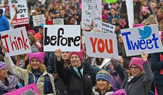 Sexist, Vulgar Posts On Women's Marches Rebound On Officials