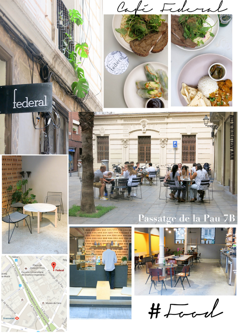 Barcelona for Foodies Café Federal Barcelona