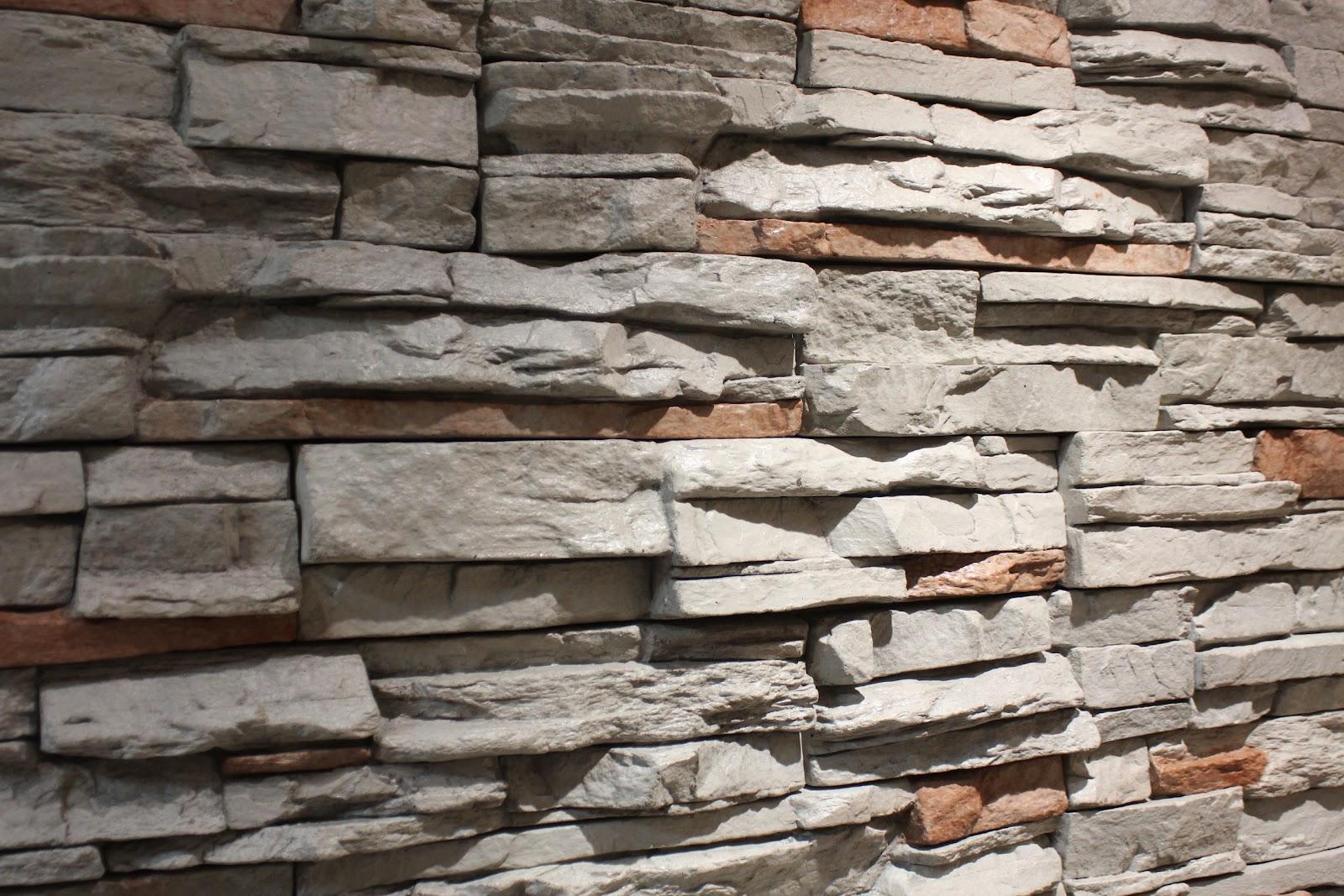 La Pared Revestida En Piedra Hormi Losa - Piedra-para-revestir-paredes