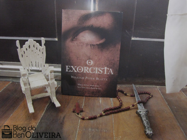 Livro O Exorcista William Peter Blatty Editora Agir Nova Fronteira