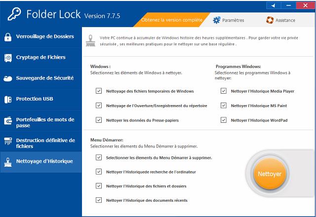 تحميل برنامج Folder Lock المختص فى حماية الملفات وتشفيرها بكلمة سر قوية