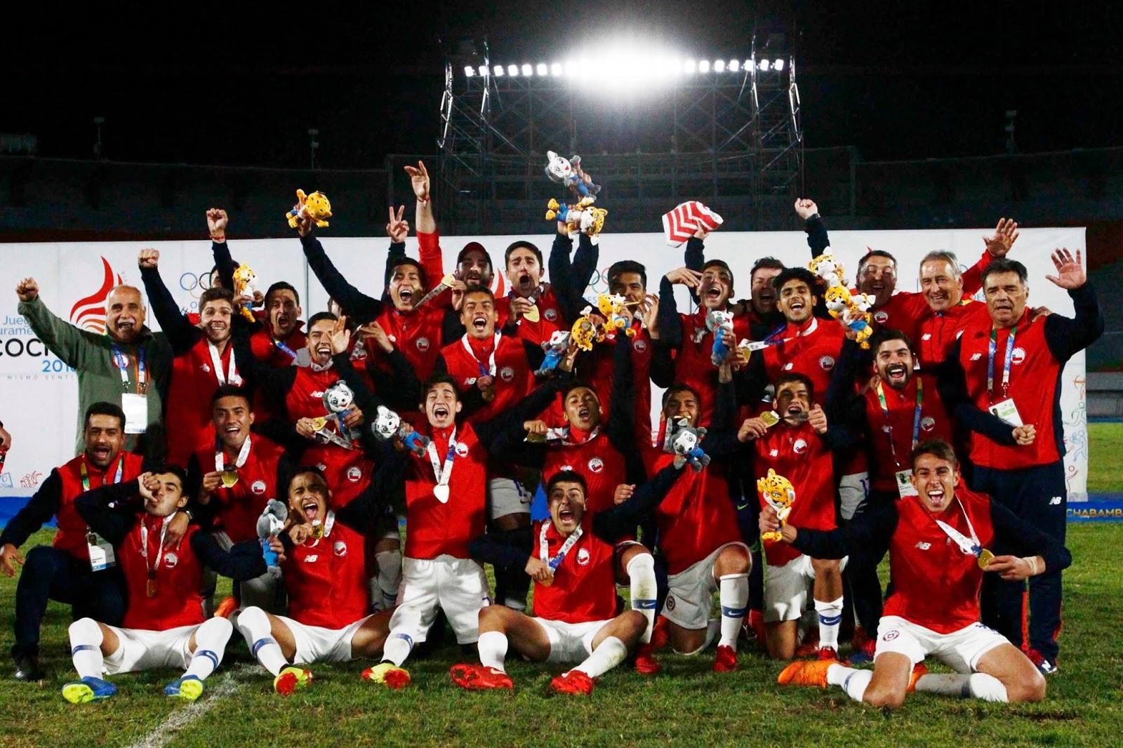 Selección chilena en Juegos Suramericanos 2018