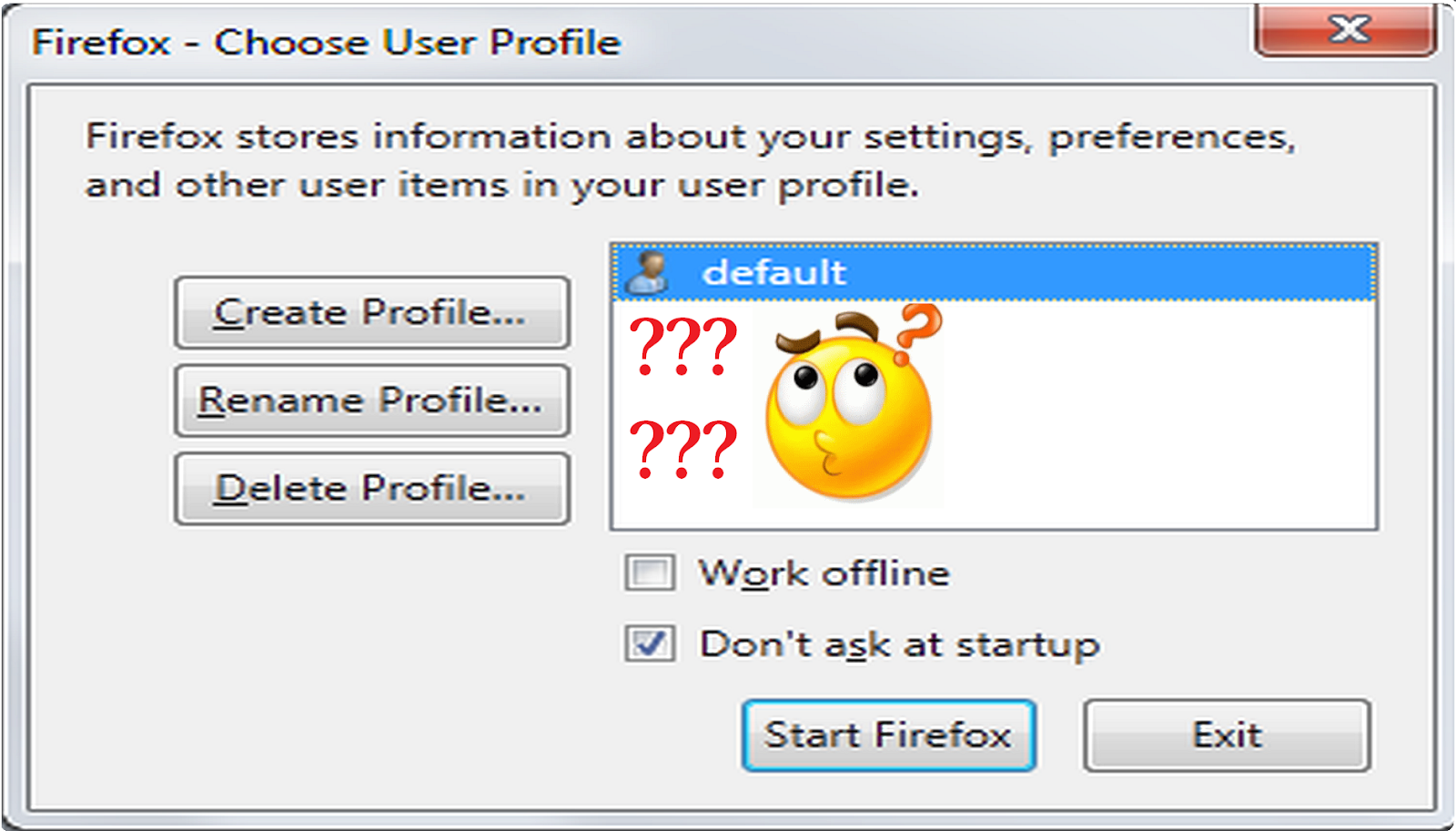 How to Fix Firefox Profile Missing After Update ~ Bumen Media