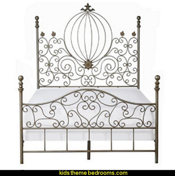 Hand-forged Iron Pumpkin Bed