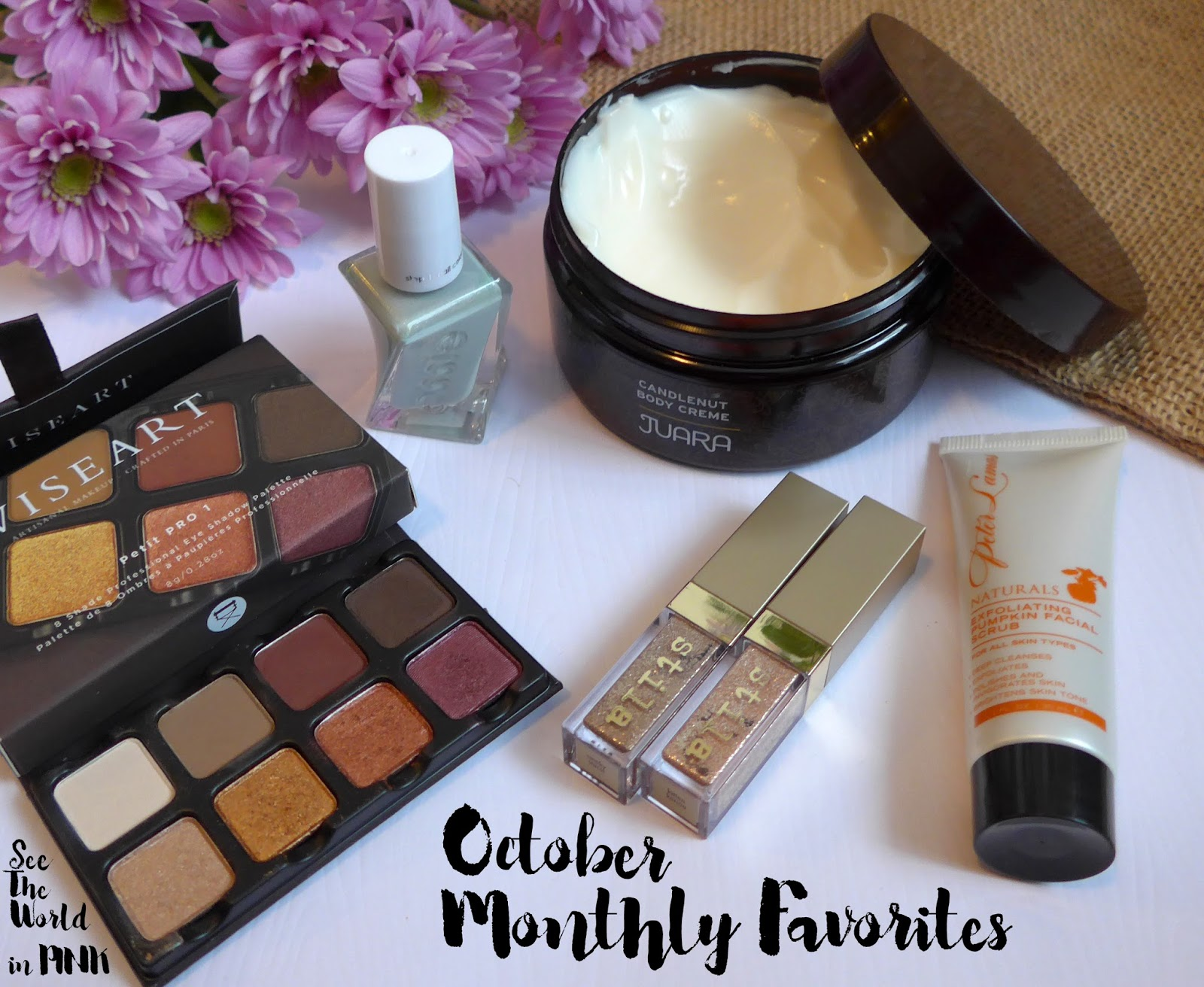 October 2017 - Monthly Favorites!