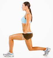 Exercice des fentes avant
